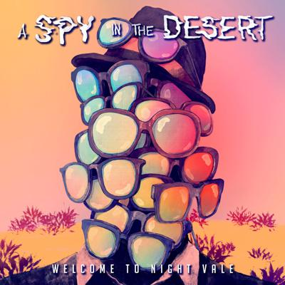 Cover art for A Spy in the Desert, Excerpt 2